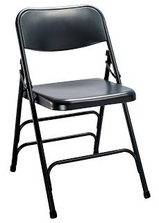 impact folding chair